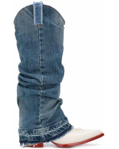 ebc9d28ff Купить женские джинсовые сапоги в интернет-магазине Киева и Украины ...
