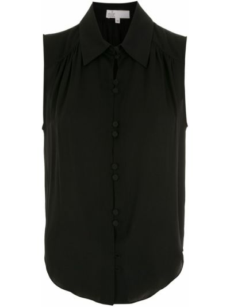 Черная рубашка на пуговицах НК