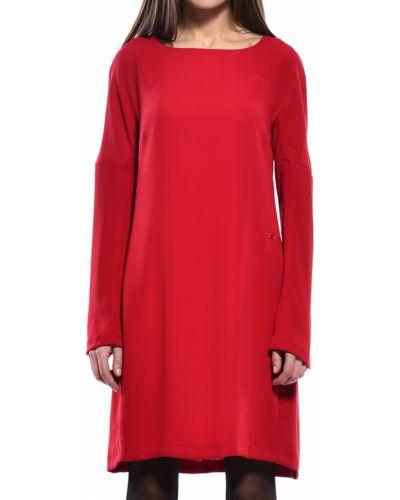 Платье осеннее красный Trussardi Jeans