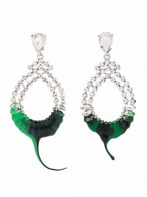 Zielone kolczyki sztyfty Ottolinger