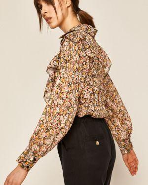Bluzka w kwiatowe wzory z wzorem Medicine