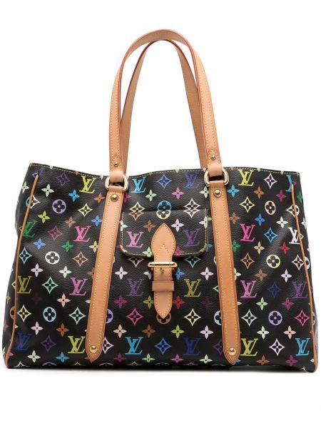 Czarna torebka skórzana Louis Vuitton