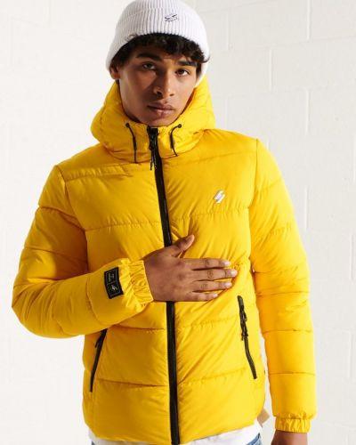 Куртка - желтая Superdry