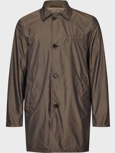 Двустороннее пальто - коричневое Moorer