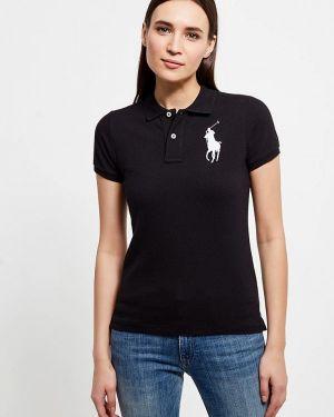 Черное поло Polo Ralph Lauren
