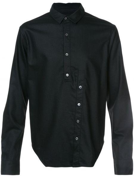 Шерстяная черная рубашка Private Stock