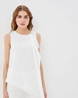 Блузка без рукавов белая весенний Love Republic
