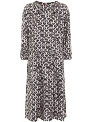 Шелковое платье миди - розовое 's Max Mara