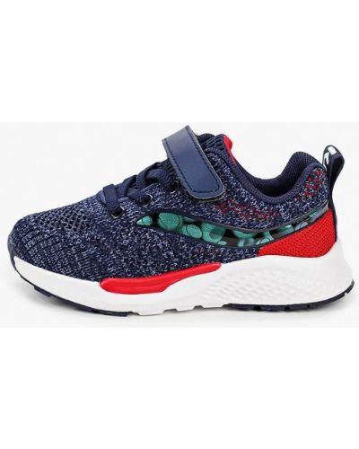Синие текстильные кроссовки капитошка