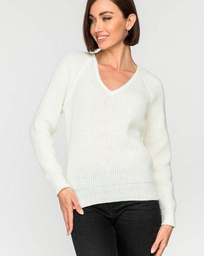 Белый пуловер Gloss