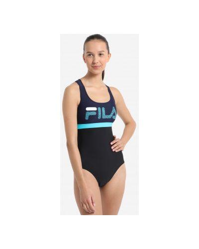 Черный купальник Fila