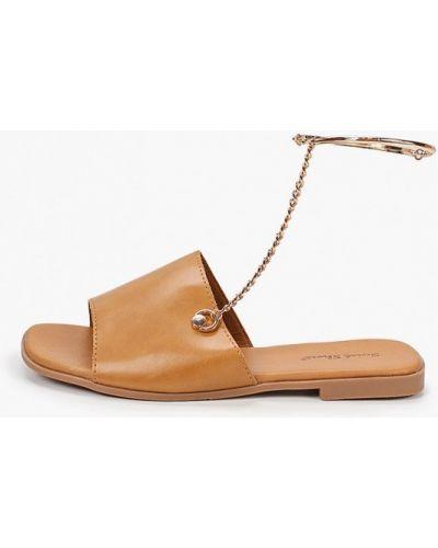 Коричневые кожаные сандалии Sweet Shoes