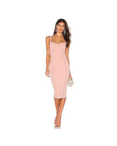 Платье мини облегающее сетчатое Nookie