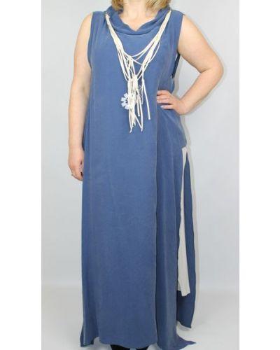 Платье - синее Verda