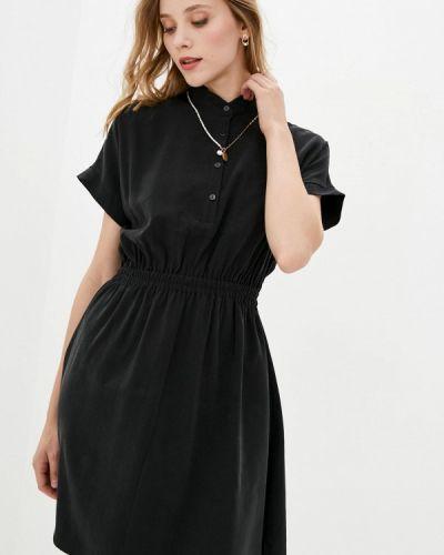 Прямое платье - черное 7arrows