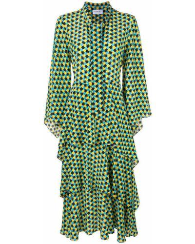 Платье миди расклешенное приталенное Osman