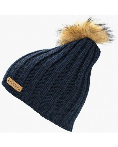 Синяя шапка осенняя Flioraj