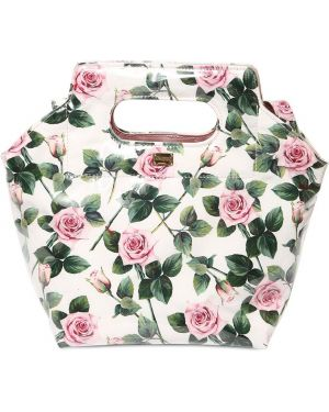 Biała torebka z printem Dolce And Gabbana