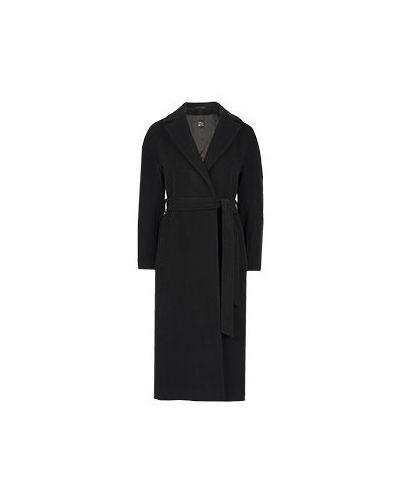 Черное пальто Cinzia Rocca