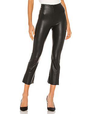 Укороченные брюки из искусственной кожи из вискозы Commando