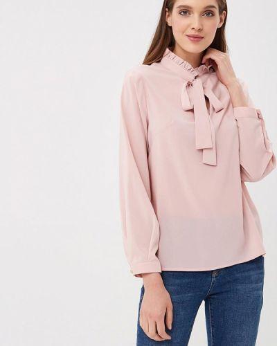 Розовая блузка с бантом Sartori Dodici