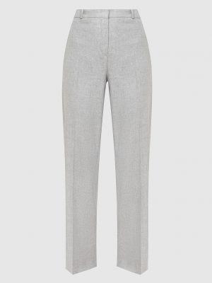 Повседневные кашемировые серые брюки Loro Piana