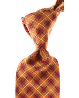 Czerwony krawat z jedwabiu Stefano Ricci