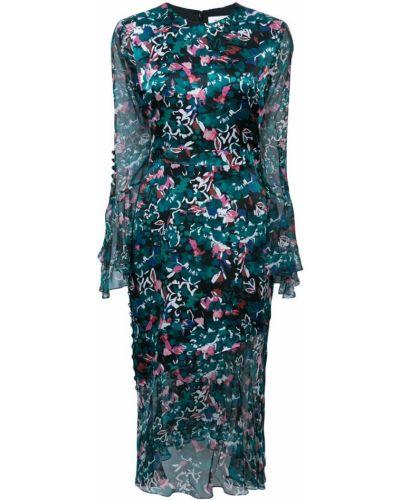 Шелковое платье - черное Prabal Gurung