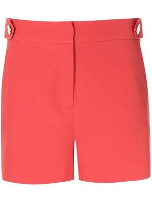 Красные шорты на пуговицах Milly