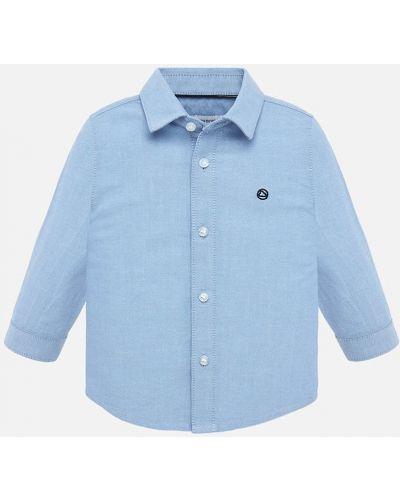 Рубашка с узором фиолетовый Mayoral