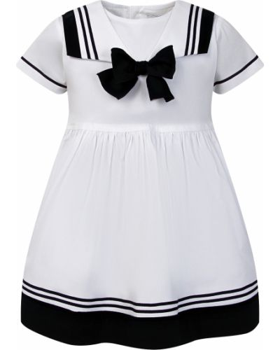 Хлопковое платье - белое Aletta
