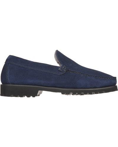 Синие туфли замшевые Gianni Famoso