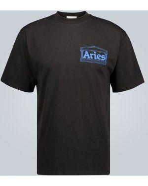 Koszula z nadrukiem z logo Aries