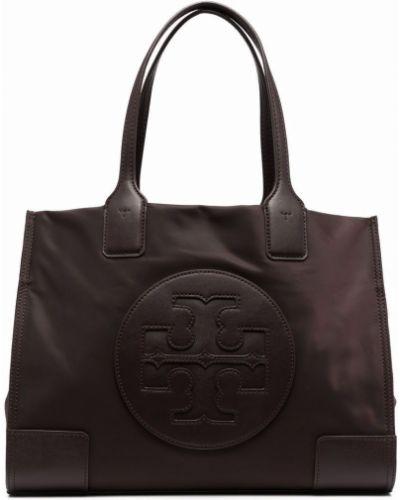 Фиолетовая сумка на молнии Tory Burch