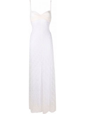 Платье макси - белое Missoni