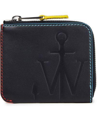 Czarny portfel skórzany Jw Anderson