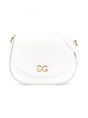 Белая сумка на плечо Dolce & Gabbana Kids