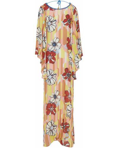 Пляжное платье макси - желтое Anjuna