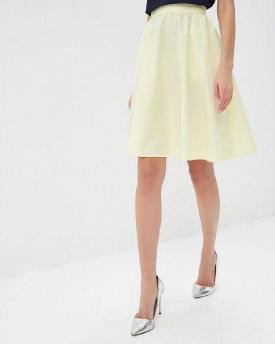 Юбка широкая желтый Fashion.love.story