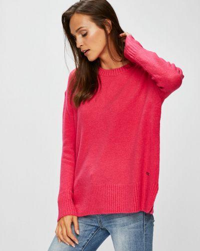 Акриловый розовый свитер Broadway