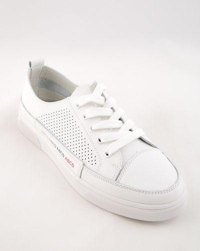 Белые кожаные туфли Sidestep