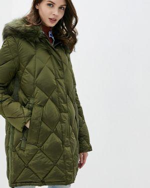 Зимняя куртка осенняя зеленая Betty Barclay