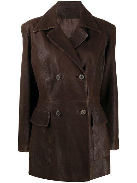 Удлиненный пиджак на пуговицах винтажный A.n.g.e.l.o. Vintage Cult