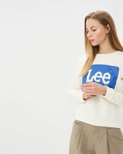 Белый свитшот Lee