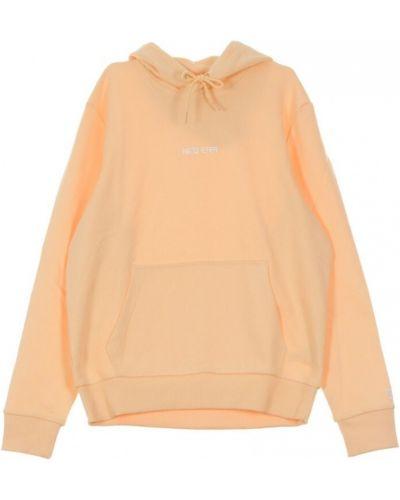 Pomarańczowa bluza dresowa New Era