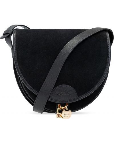 Czarna torba na ramię See By Chloe