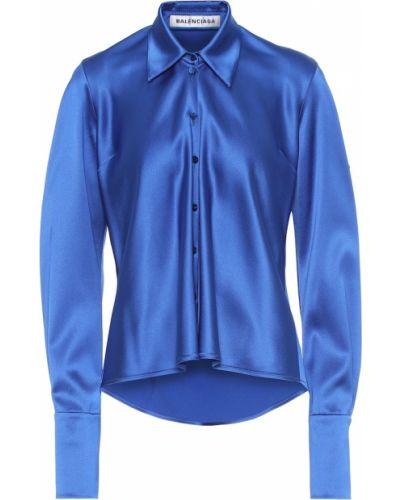 Блузка батник сатиновая Balenciaga