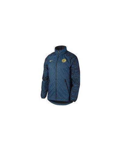 Футбольная облегченная куртка с капюшоном с разрезом Nike