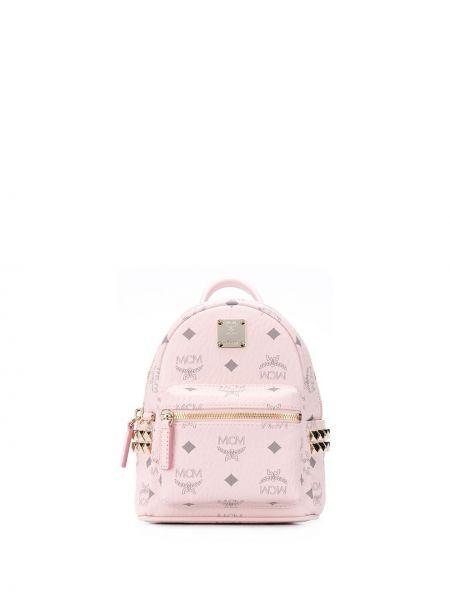 Plecak, różowy Mcm