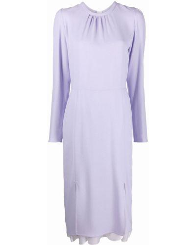 Платье миди - фиолетовое Marni